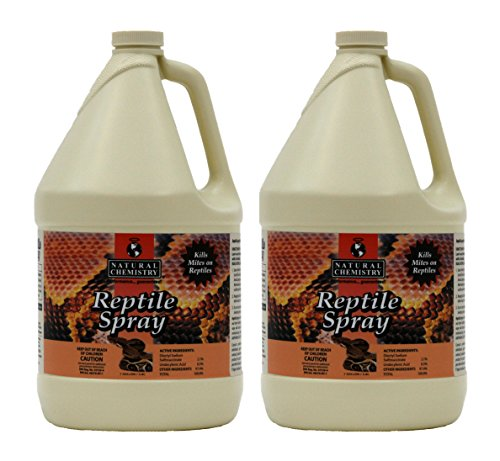 2) Natural Chemistry 11037 Reptile Lizard Mite Tick Parasite Relief - 1 Gal Each by Natural Chemistry - Pets