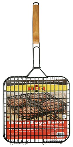 Mr. Bar-B-Q 06161X Deluxe Non-Stick Burger Basket (Non Stick Burger Basket)