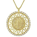 In Season Jewelry 18k Gold Plated Clear ...