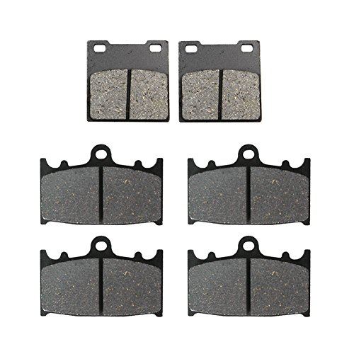 Road Passion Brake Pads Front and Rear for SUZUKI GSXR 600 1997-2003 / GSXR750 2000-2003 / TL1000 S 1997-2001 ()