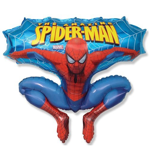 Spider-man Jumping Spiderman Shaped Balloon 26