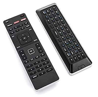 New XRT500 Dual Side TV Remote Control for VIZIO SMART LED with Qwerty Back Light Internet APP M43-C1 M43C1 M49-C1 M49C1 M50-C1 M50C1 M502I-B1