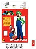 Super Mario Brothers, Deluxe Luigi Costume, Large