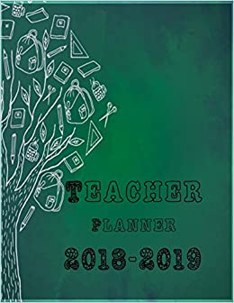 amazon teacher planner 2018 2019 classroom planner teachers