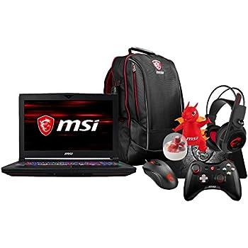 "MSI GT63 TITAN-047 (i7-8750H, 16GB RAM, 256GB NVMe SSD + 1TB HDD, NVIDIA GTX 1070 8GB, 15.6"" Full HD 120Hz 3ms, Windows 10 Pro) VR Ready Gaming Notebook"
