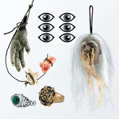 Cannibal Jack Sparrow Accessory Kit Costume Set