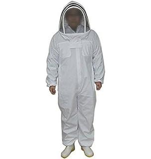 Traje de apicultor profesional, conjunto de mono y casco independiente con velo