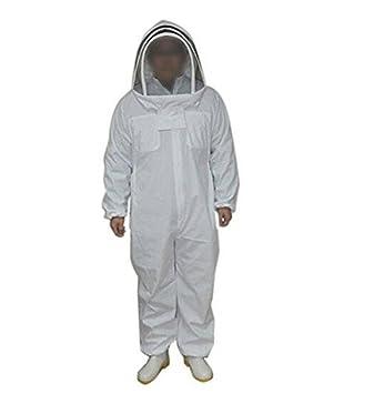 Traje de apicultor profesional, conjunto de mono y casco ...