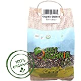 Just Organik Tricolour Quinoa 1 lbs (454 gm), 100% Organic, GMO Free, Chemical Free, Pesticide Free, USDA Certified