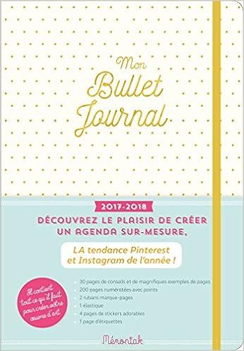 Mon bullet journal Mémoniak 2017-2018: 9782351559420: Amazon ...