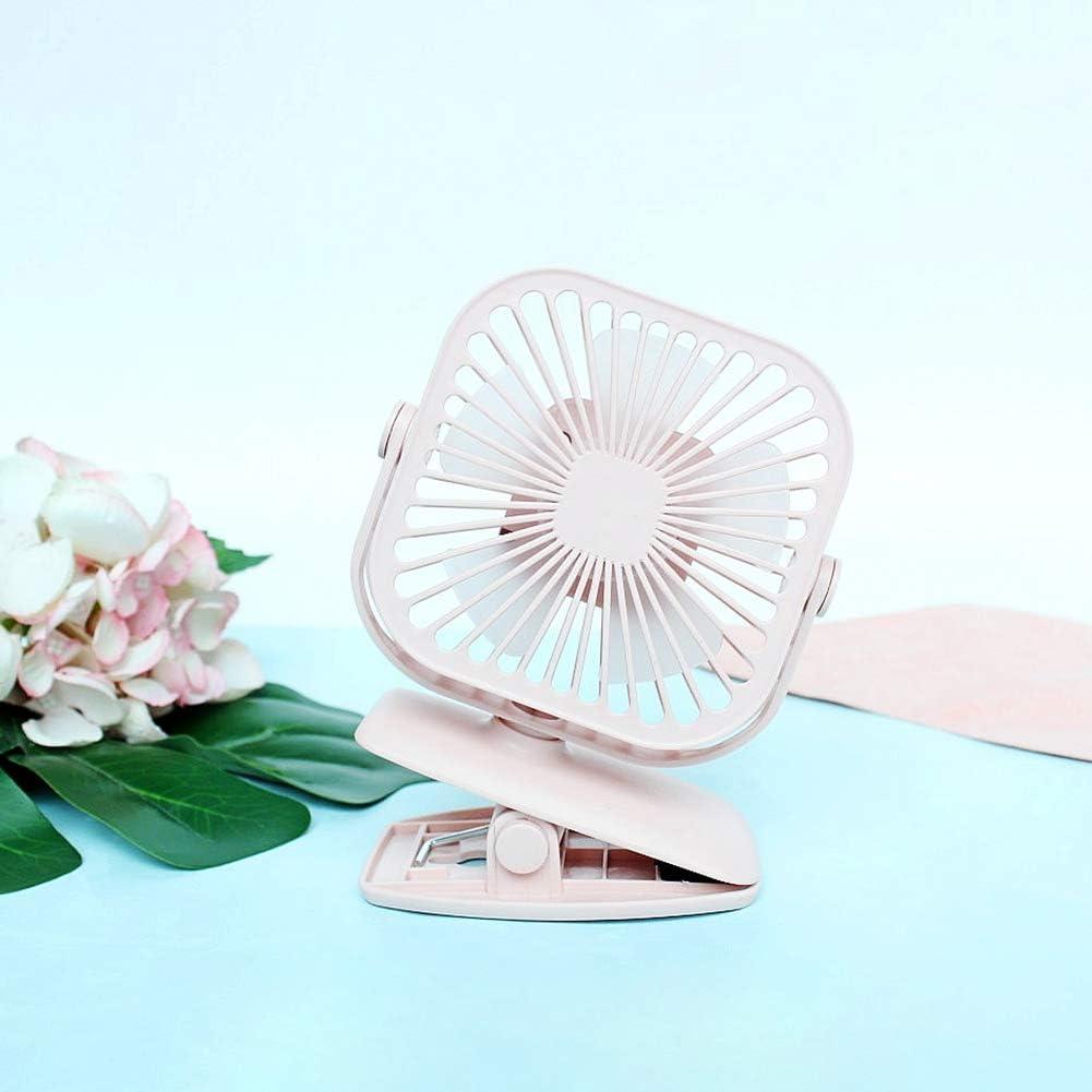 RONSHIN Wireless Fan-Cooling FanWireless Fan,Square Shape USB Charging Mini Fan with Clip