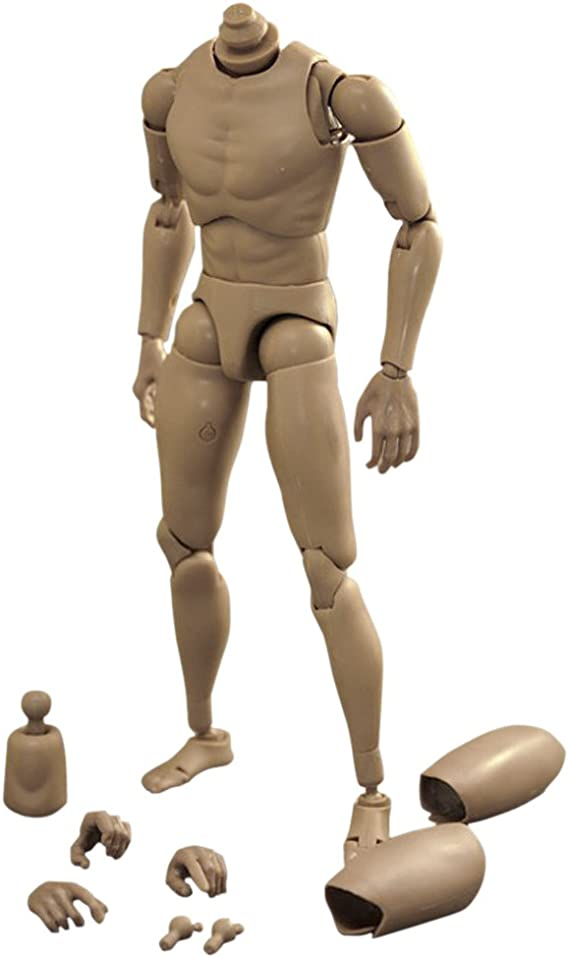 1:6 Scale Male Body Skeleton Action Figure w// Spare Hands for TTM18 TTM19