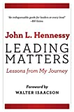 Book Cover for Leading Matters: Lessons from My Journey