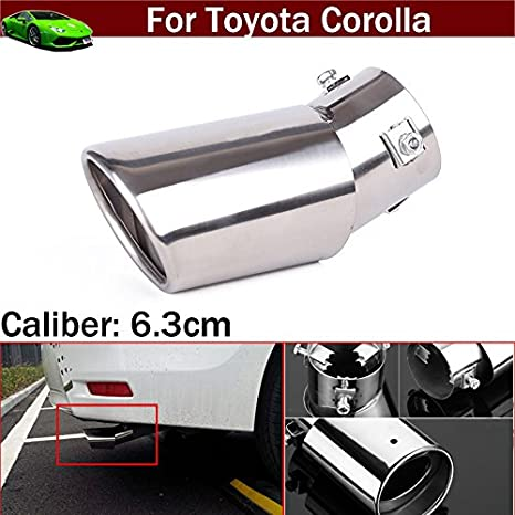 Stainless Steel Dual Exhaust Pipe Muffler Tip For Chevrolet Cruze 2009~2014