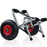 OxGord Kayak Dolly Boat Canoe Trolley Tote Cart...