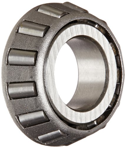 Timken A6067 Tapered Roller Bearing, Single Cone, Standard Tolerance, Straight Bore, Steel, Inch, 0.6690