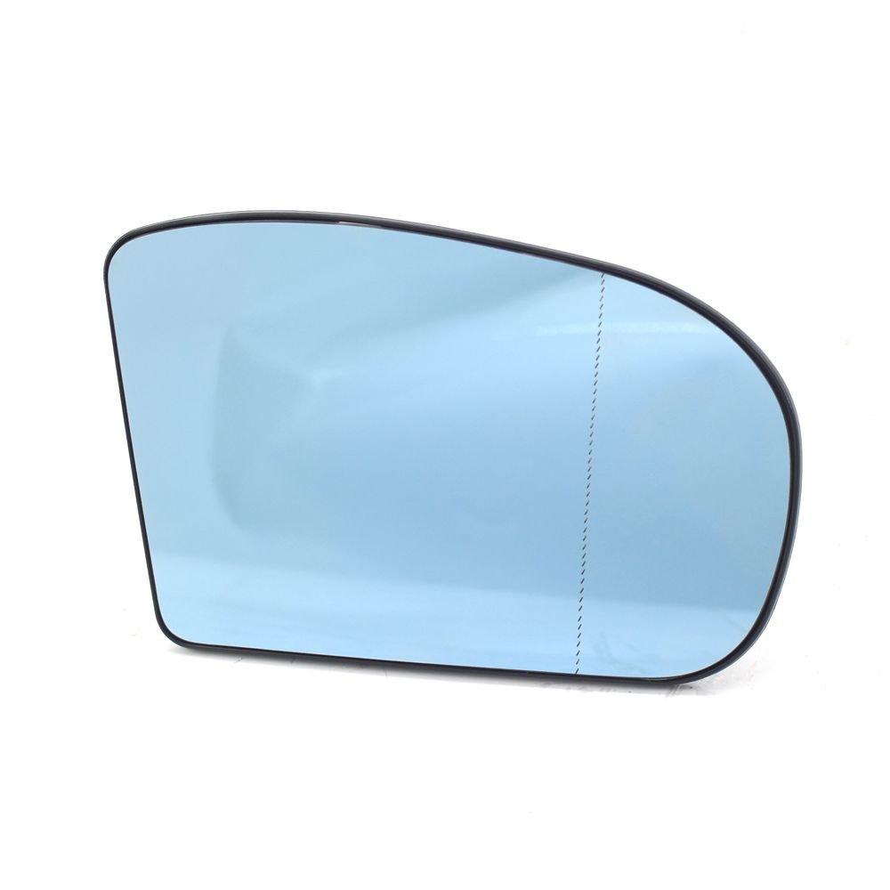 SNOWINSPRING Verre Bleu de Miroir de retroviseur Lateral Droit de Voiture Convient a Mercedes-Benz W203 2038100121