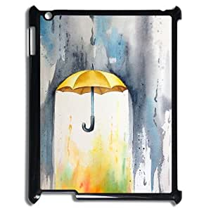Print Your Own Pictures AXL367756 Best Cover Case For Ipad 2,3,4 Cover Case w/ Yellow Umbrella Painting