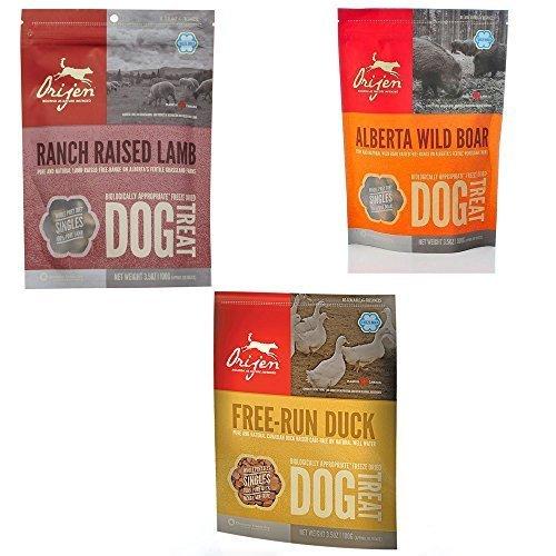 Champion Dog Target - Orijen Dog Treats Combo Pack 3-3.5oz by Orijen