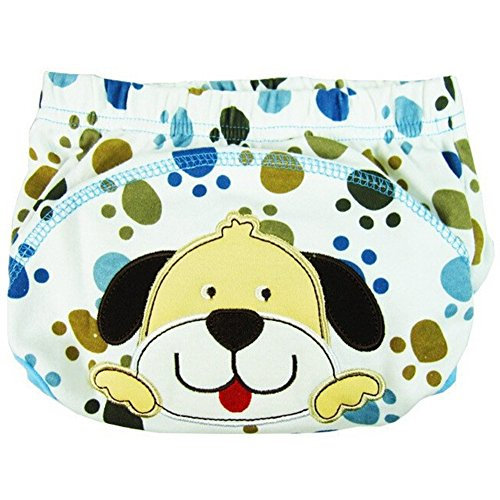 Dog Costume Fails (Velidy Baby Potty Training Pants Cute Reusable Diaper Nappy Underwear for Toddler (Dog(XL/100)))
