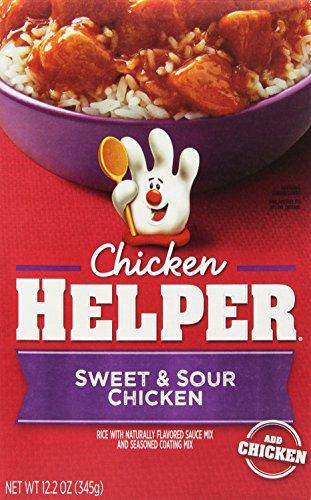 Chicken Helper, Sweet and Sour Chicken Helper, 12.2 Ounce (Pack of (Sweet Sour Glaze)