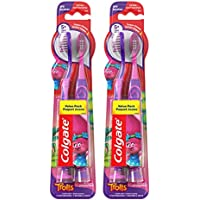 Colgate 4 Count Extra Soft Kids Toothbrush with Suction Cups
