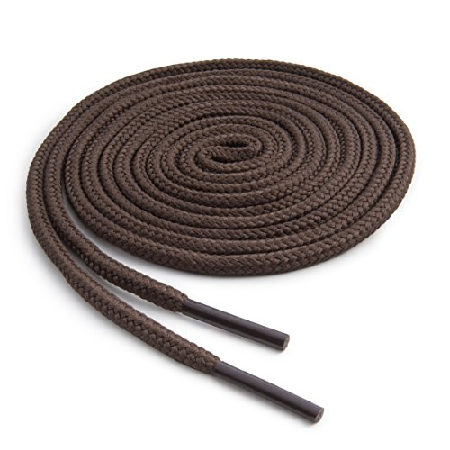 OrthoStep Round Athletic Brown 36 inch Shoelaces 2 Pair - Round And Brown