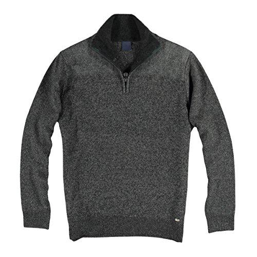 engbers Herren Troyer-Pullover, 24760, Grau