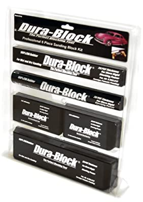 AF44A Black 6-Piece Sanding Block Set