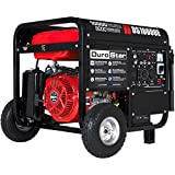 10000 Watt Gas Generator - Durostar DS10000E, 8000 Running Watts/10000 Starting Watts, Gas Powered Portable Generator