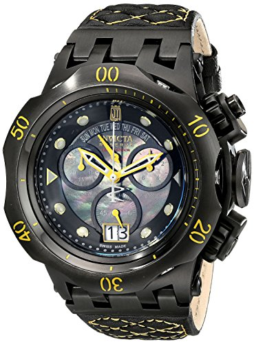 - Invicta Men's 17184BWB Jason Taylor Analog Display Swiss Quartz Black Watch