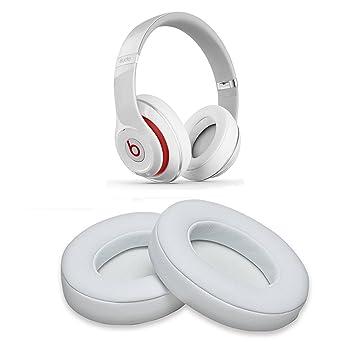 Almohadillas de repuesto de espuma de memoria para auriculares Beats Studio 2.0/3.0 con cable
