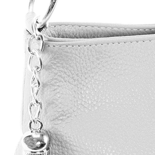 Épaule Sac Porté Italien Cuir Modèle 2018 Femmes Et My À Lobe Bandoulère Main Collection Bag Oh Nouvelle Blanc zBpnSx