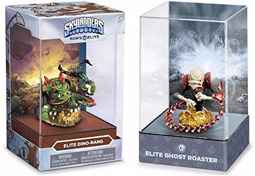 Skylanders Superchargers Eon's Elite CHARACTER GIFT BUNDLE !! Dino Rang-Ghost Roaster