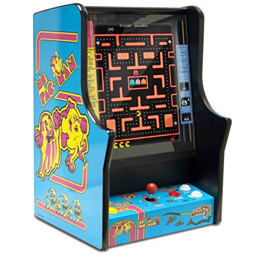 Namco Ms. Pacman and Galaga Bartop Home Arcade Game