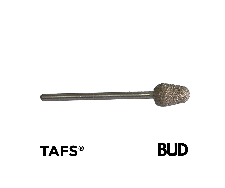 TAFS® Diamond Bonded Burs - VERY High Quality Long Lasting Abrasive Surface Chiropody Podiatry (Pear) TAFS ®