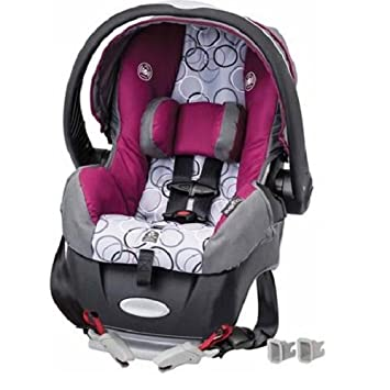 Evenflo Embrace Select Infant Car Seat With Sure Safe Installation Evangeline Purple