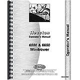 New Hesston 6650 Windrower Operators Manual