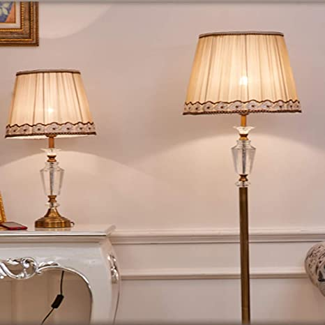 YJFFAN Combinación de lámpara de pie de lámpara de Mesa de ...