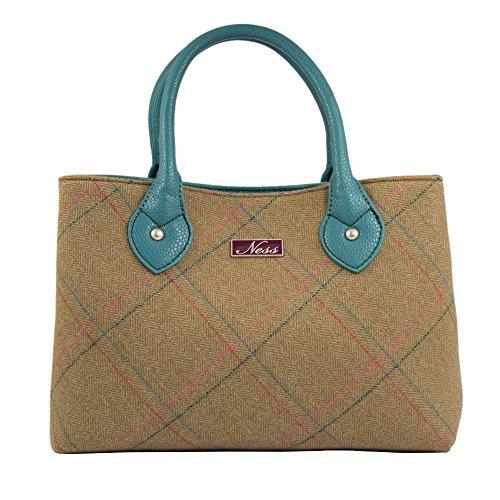 Ness , Damen Tote-Tasche grün khaki