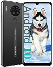 "Blackview A80 4G Unlocked Cell Phones, 6.217"" HD+ Waterdrop Screen, 5MP Front Camera + 13MP Quad Rear Camera, Android 10 Quad-Core 2GB + 16GB ROM,4200mAh Big Battery Unlocked Smartphones"