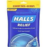 Halls Mentho-Lyptus Cough Drops - with Menthol - 960 Drops (12 bags of 80 drops)