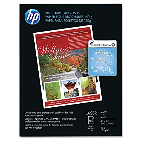 HP Q6543A Color Laser Brochure Paper, 98 Brightness, for sale  Delivered anywhere in USA