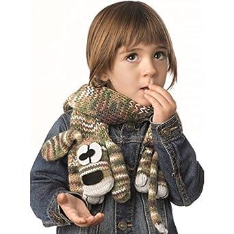 4d5128f8c68 Laine DOG SCARF Kit écharpe enfant - Katia 51 Kaki  Amazon.fr  Bienvenue