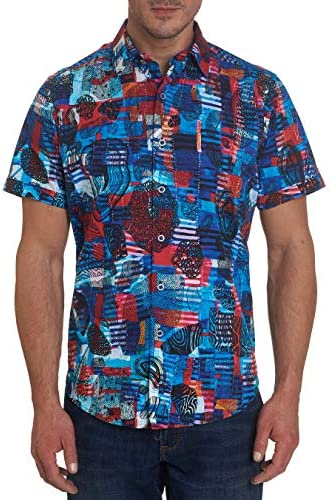 Robert Graham Frisco S/S Printed Sport Shirt Classic Fit
