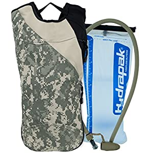 Code Alpha Chameleon Hydrapak Runner's Backpack with 3L Hydrapak Hydration System, Digital Camouflage