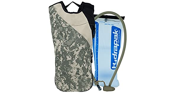 Ditital Camouflage Mercury Tactical Gear Code Alpha Chameleon Runners Backpack with 3l Hydrapak Hydration System Army Digital Camoufalge