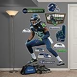 Fathead Peel and Stick Decals NFL Seattle Seahawks Richard Sherman Cornerback Big Wall Decal