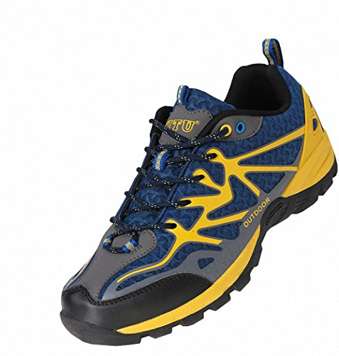 Ben Outdoor Trail Navy Womens Mens Sports Shoes Hiking Running Blue Unisex r6aq1rWw0