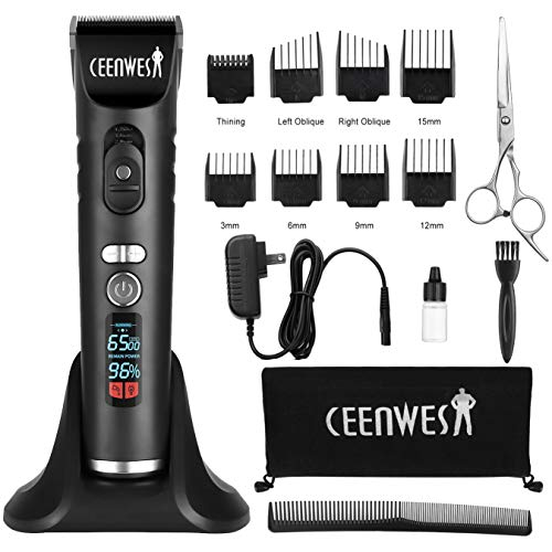 Ceenwes Professional Cordless Clippers Rechargeable